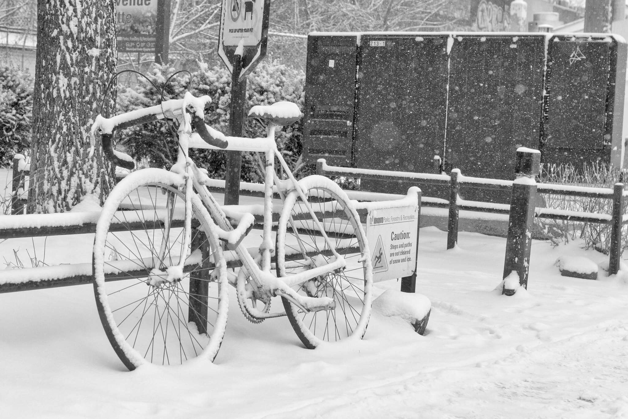 Photograph Snow Bike by Ash Furrow on 500px