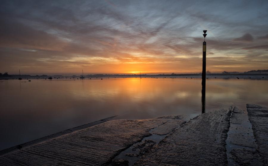 Sundown at Bosham Quay
