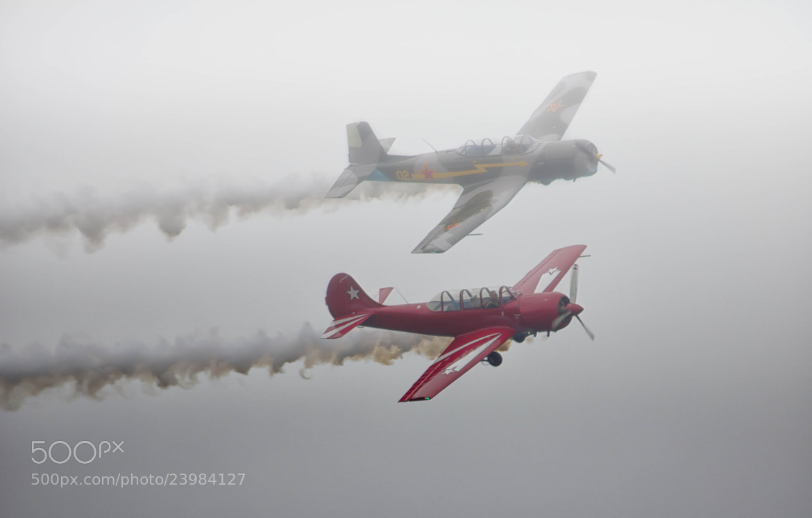 Photograph Foggy Flying by Pete  on 500px