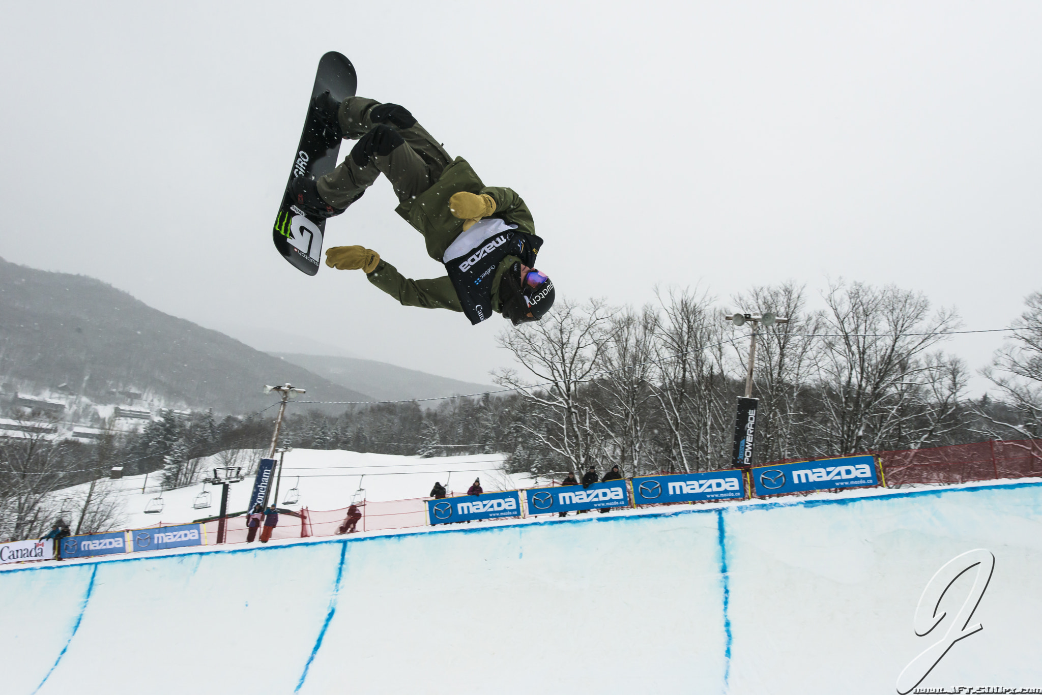 Photograph Christian Haller - SUI - FIS Snowboard World Championship 2013 - Half-Pipe by Jean-Francois Thibeault on 500px