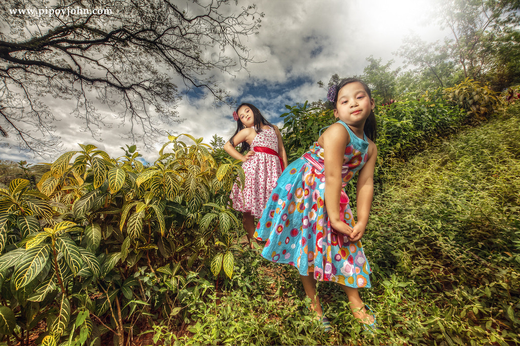 Photograph Sister HDR Portrait By: Pipoyjohn by Pipoy John on 500px
