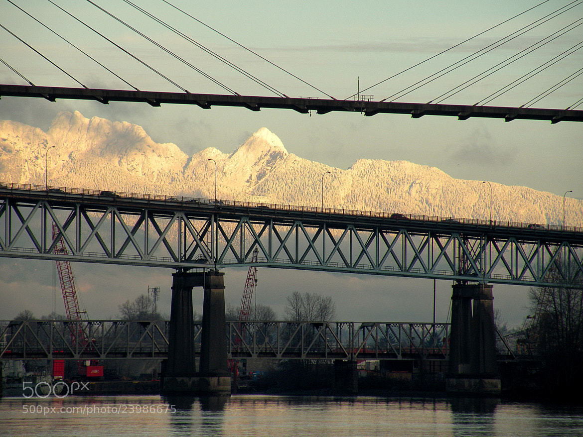 Photograph Bridges and Mountains by Brian Chase on 500px