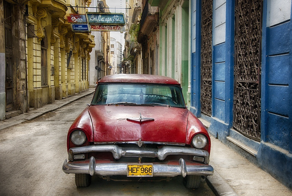 Photograph Coche Rojo by Tony Sweet on 500px