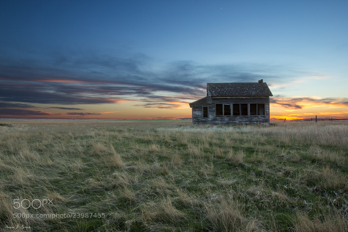 Photograph Little House on the Prairie  by Aaron J. Groen on 500px