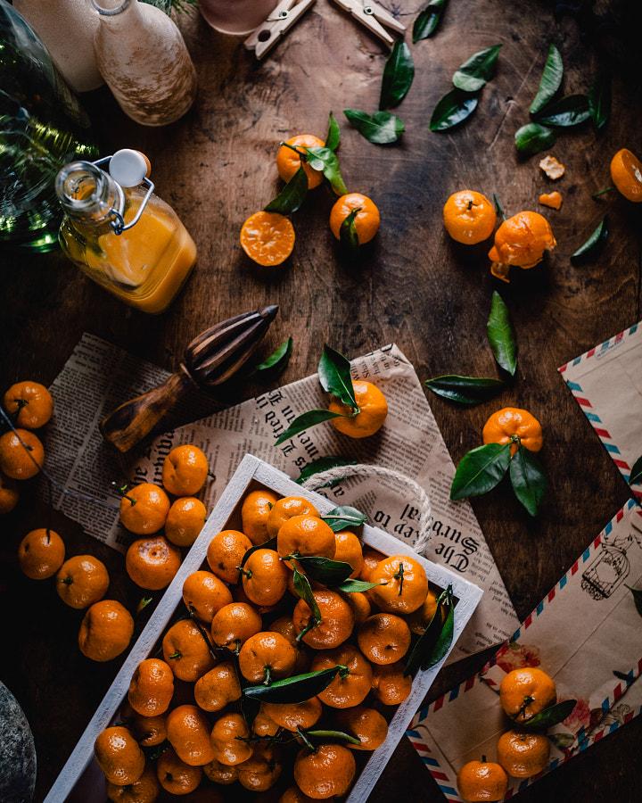 Tangerines by Marina Kuznetcova on 500px.com
