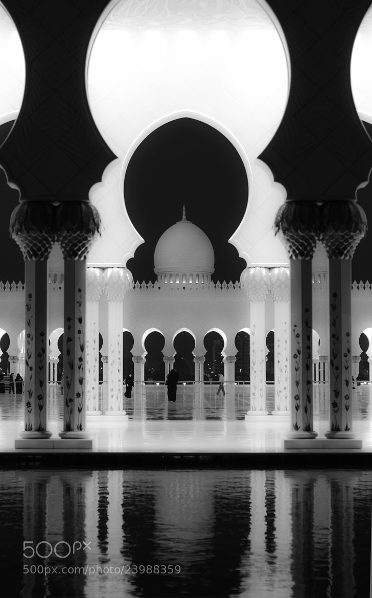 Photograph The Grand Mosque in B+W by julian john on 500px