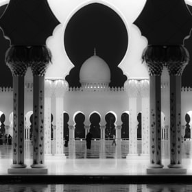 The Grand Mosque in B+W by julian john (sandtasticdays)) on 500px.com