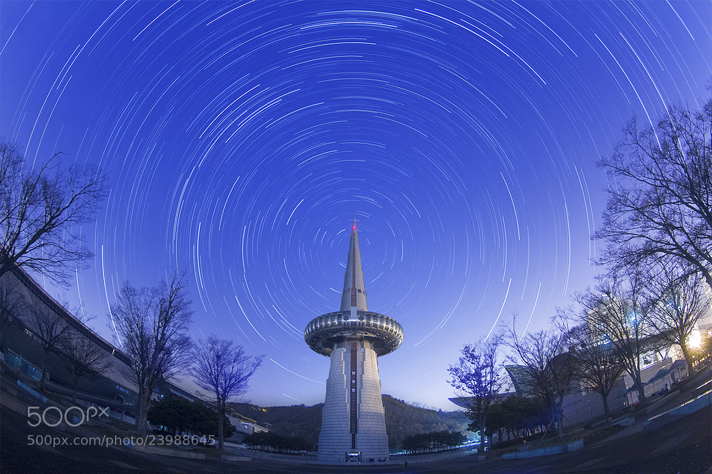 Photograph Startrails. @Daejeon, Korea by Gu Min Jeong on 500px