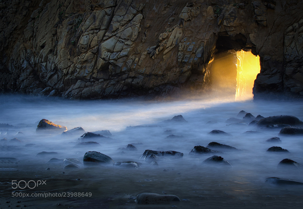 Photograph The Keyhole, Big Sur, CA by William McIntosh on 500px