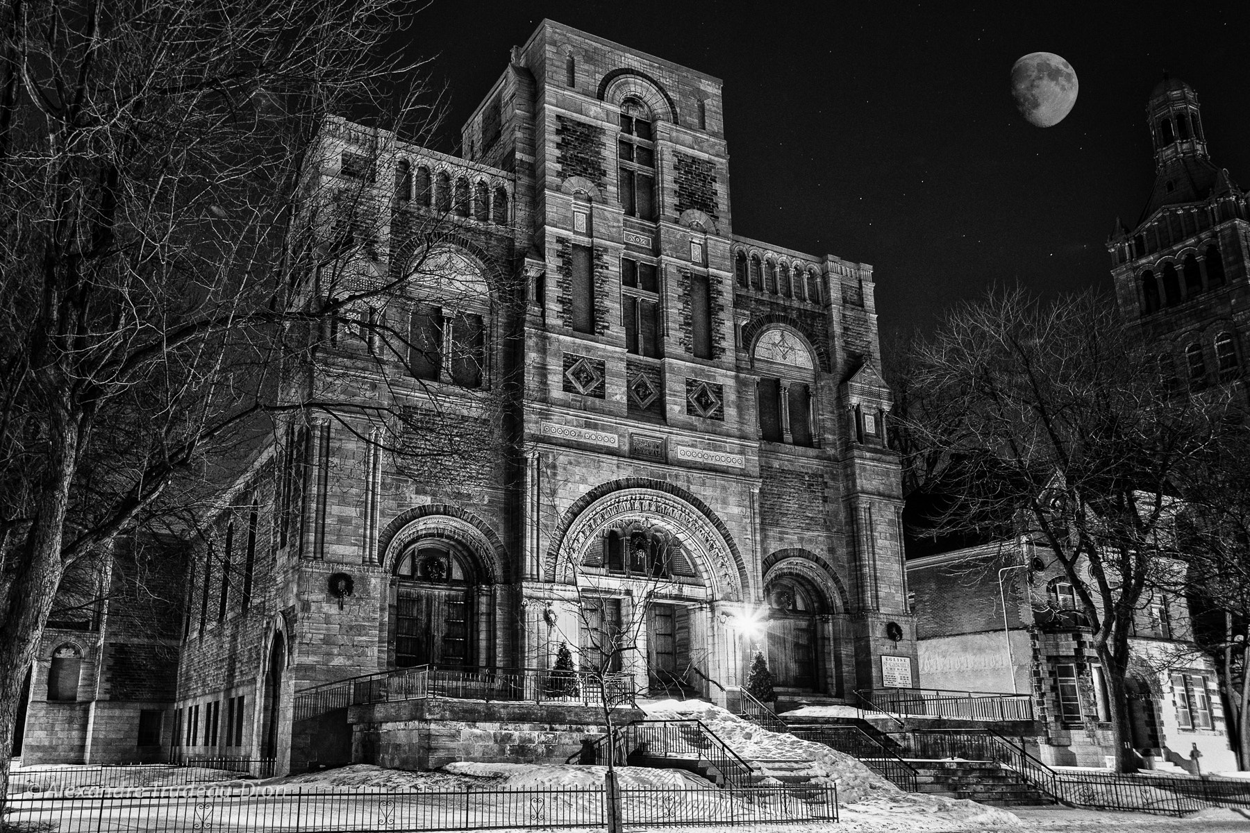 Photograph St-Gabriel church Montreal by Alexandre Trudeau-Dion on 500px