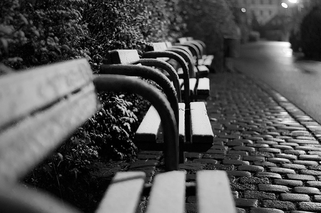 Photograph Lonely benches by Maximilian Huber on 500px