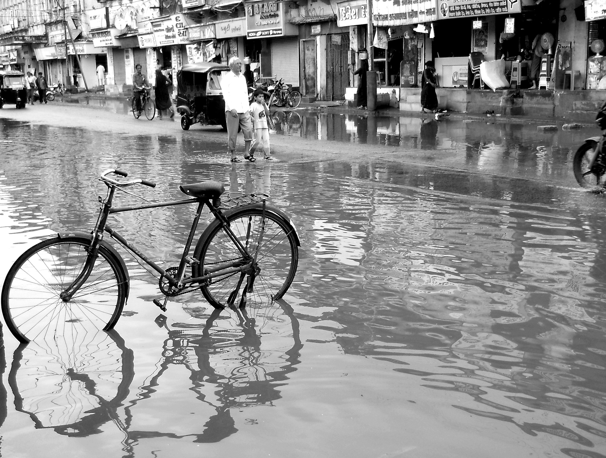 Photograph Puddle Parking by Naveed Dadan on 500px