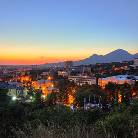 Pyatigorsk sunset by Alex Zababurin (AlexZababurin)) on 500px.com