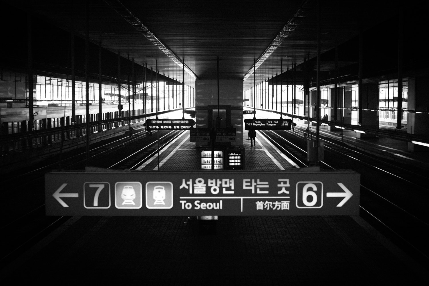 Photograph Train Station. by Sangyoun Lee on 500px