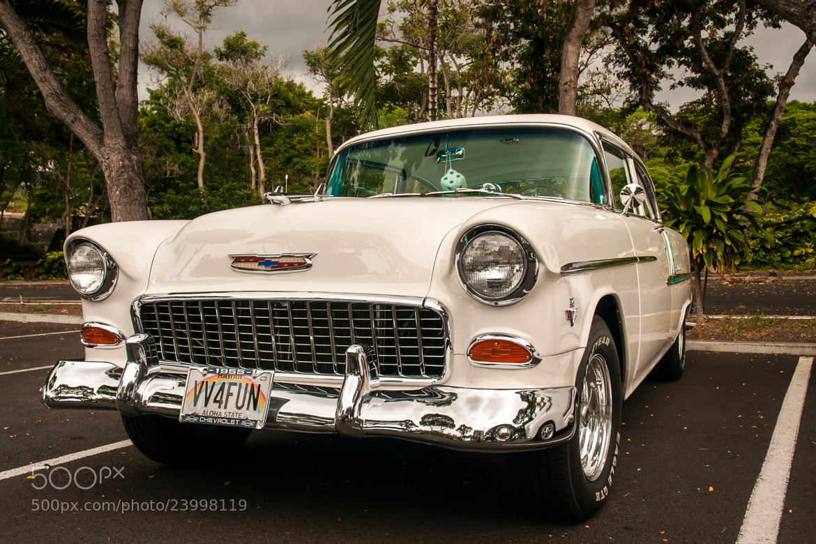 Photograph 1955 Chevrolet Bel Air by Marcus Jaschen on 500px