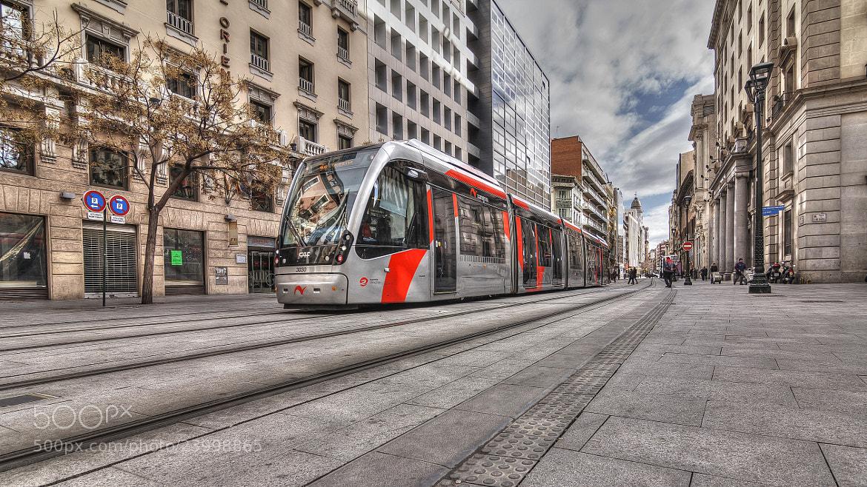 Photograph Back to the future! ( The streets of Zaragoza ) by Tony Goran on 500px