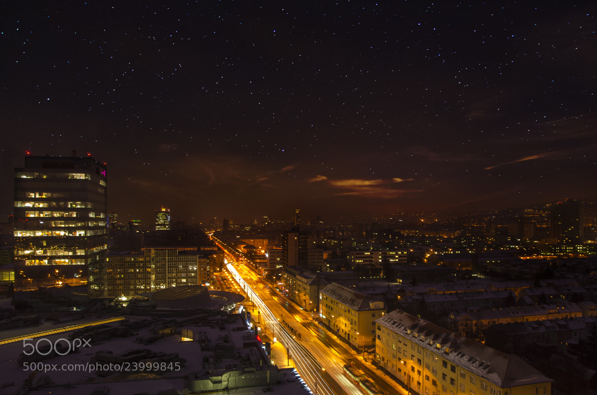 Photograph Bratislava at night I by David Bugyi on 500px