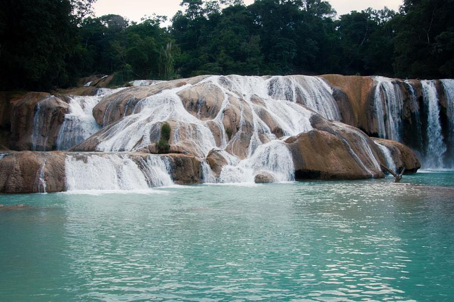 Aqua Azul near Palenque by Cattiva Kat on 500px.com