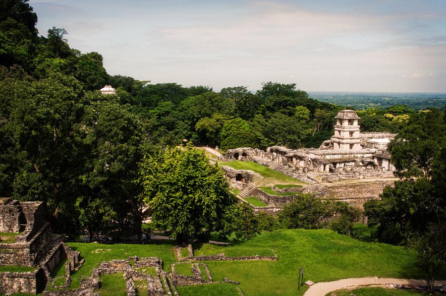 Palast Palenque México by Cattiva Kat on 500px.com