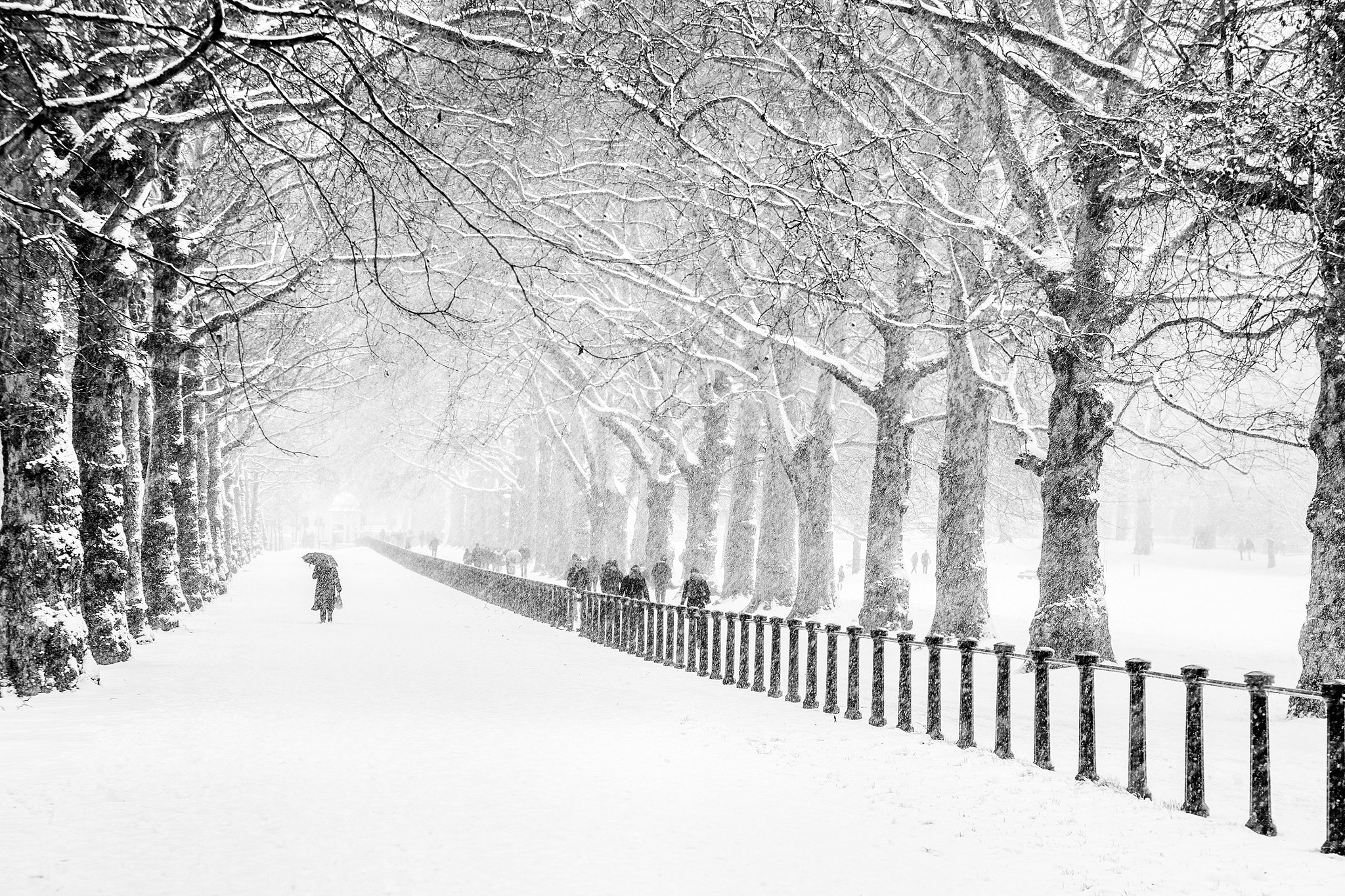 Photograph London - Braving the Cold by Jon Reid on 500px