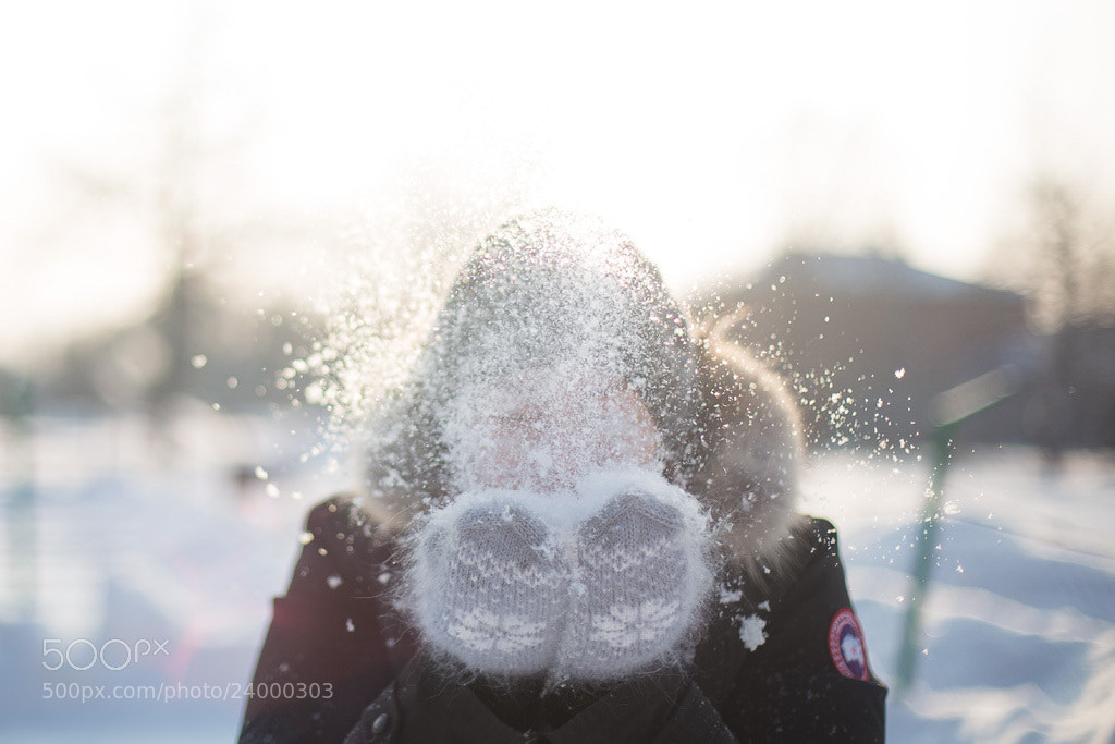 Photograph Snow splash by Antøine Abramov on 500px