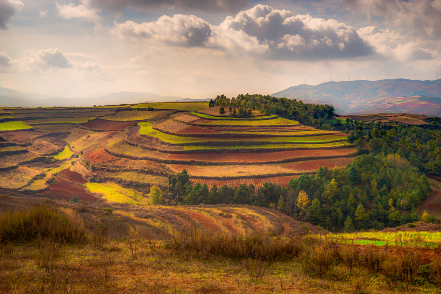 Dongchuan Red Lands, автор — Karine EyE на 500px.com