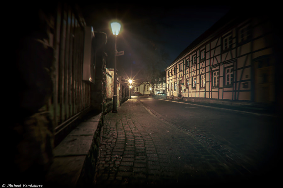The Street and the Timbered House, автор — Michael Kendziorra на 500px.com