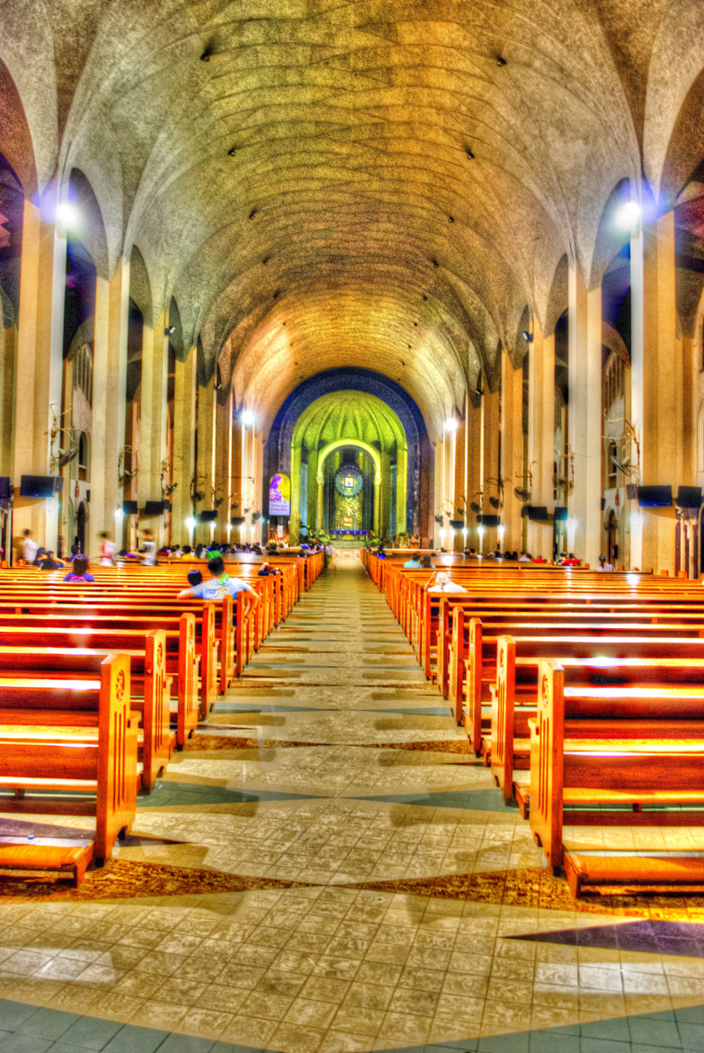 Photograph National Shrine of Our Mother of Perpetual Help by Pau Dy on 500px