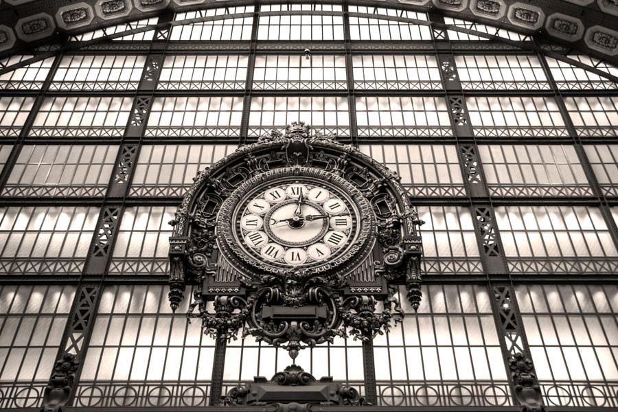 La grande horloge, (The big clock) de Christine Druesne sur 500px.com