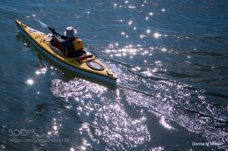 Photograph Kayak Diamonds by Donna Brittain on 500px