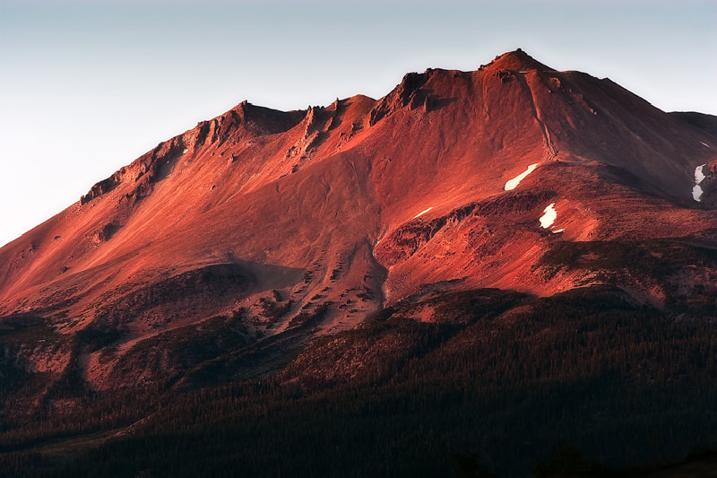 Photograph Fiery Mountainside by Ken Ford on 500px