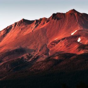 Fiery Mountainside by Ken Ford (imagesoflight)) on 500px.com