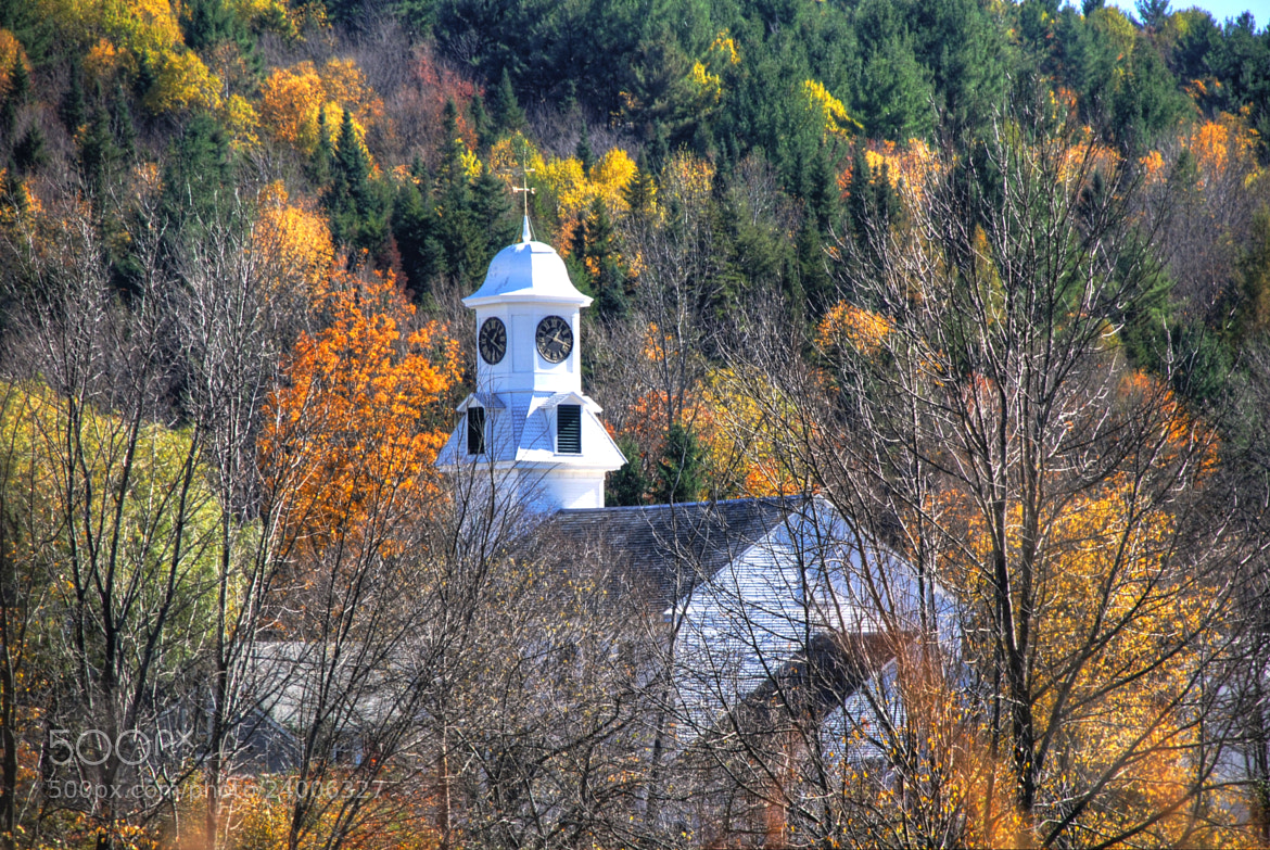 Photograph New England Church by Bill Brown on 500px