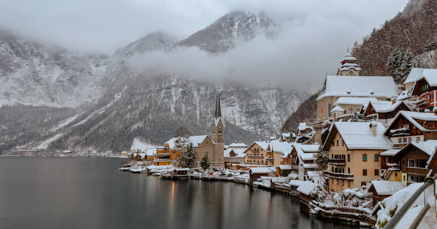 Winter Scenic Hallstatt by Manfred Münzl on 500px.com