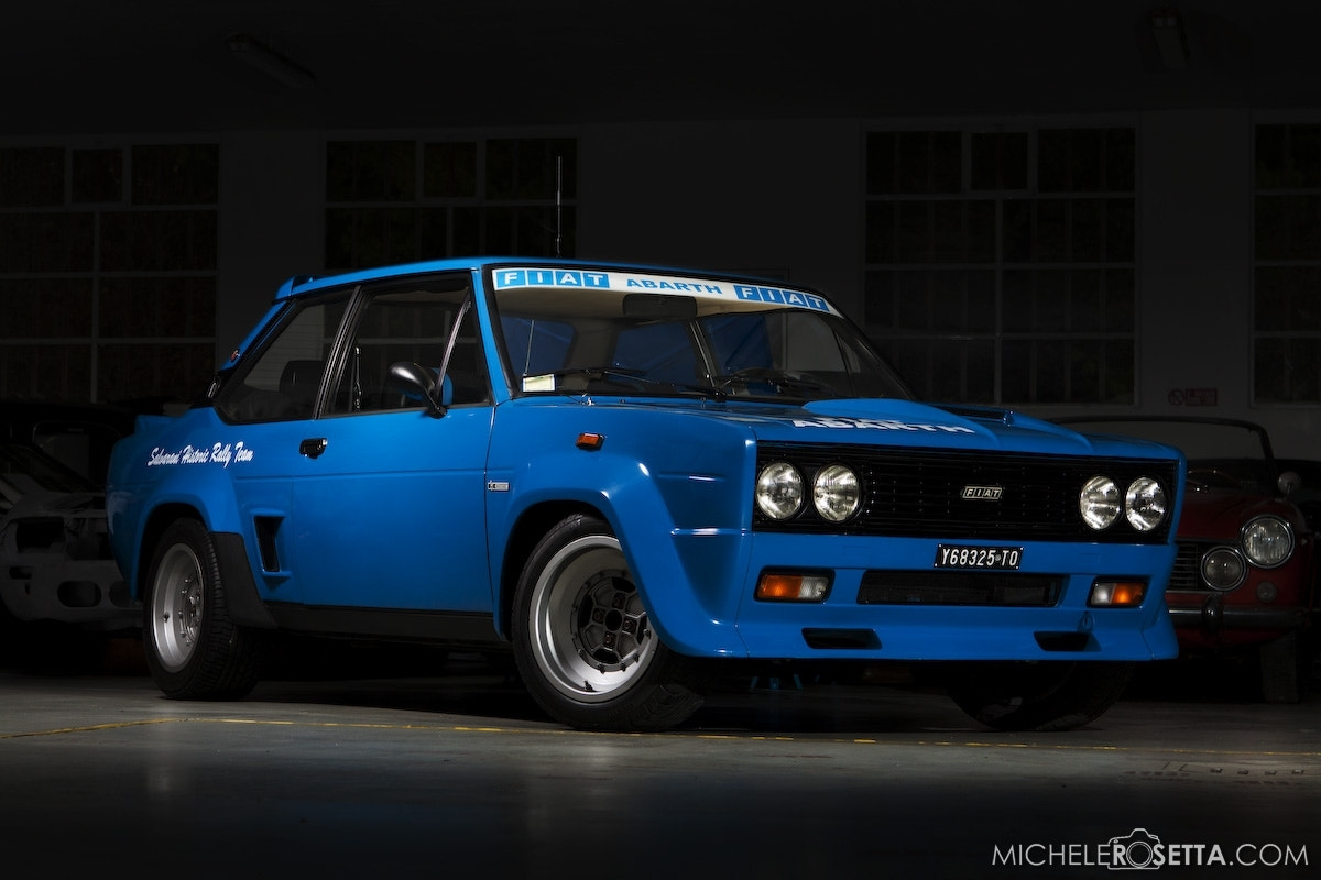 Photograph Fiat 131 Abarth - 3/4 low by Michele Rosetta on 500px