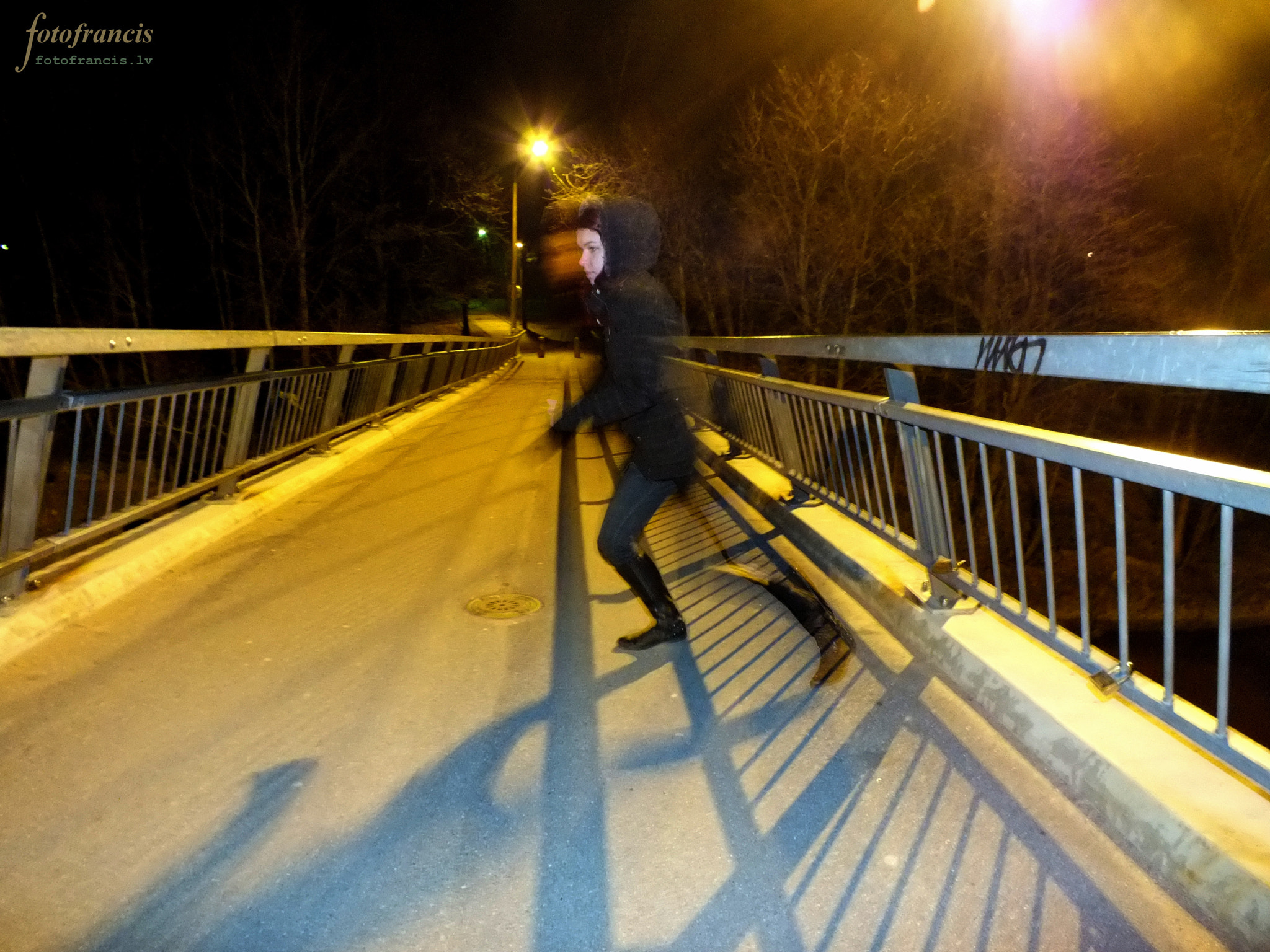 Photograph Running on the bridge - Urban trip 1 by Francis Millers on 500px