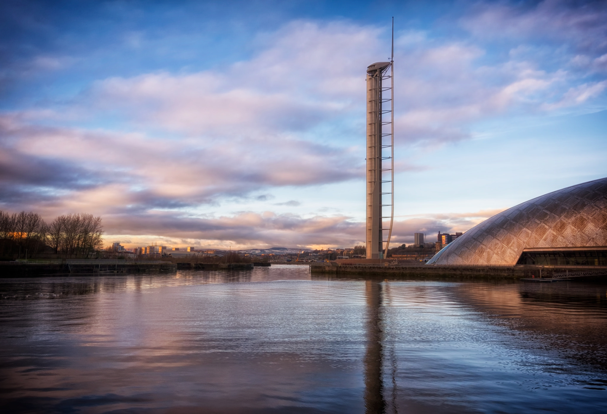 Photograph Glasgow Tower & River Clyde by David Early on 500px