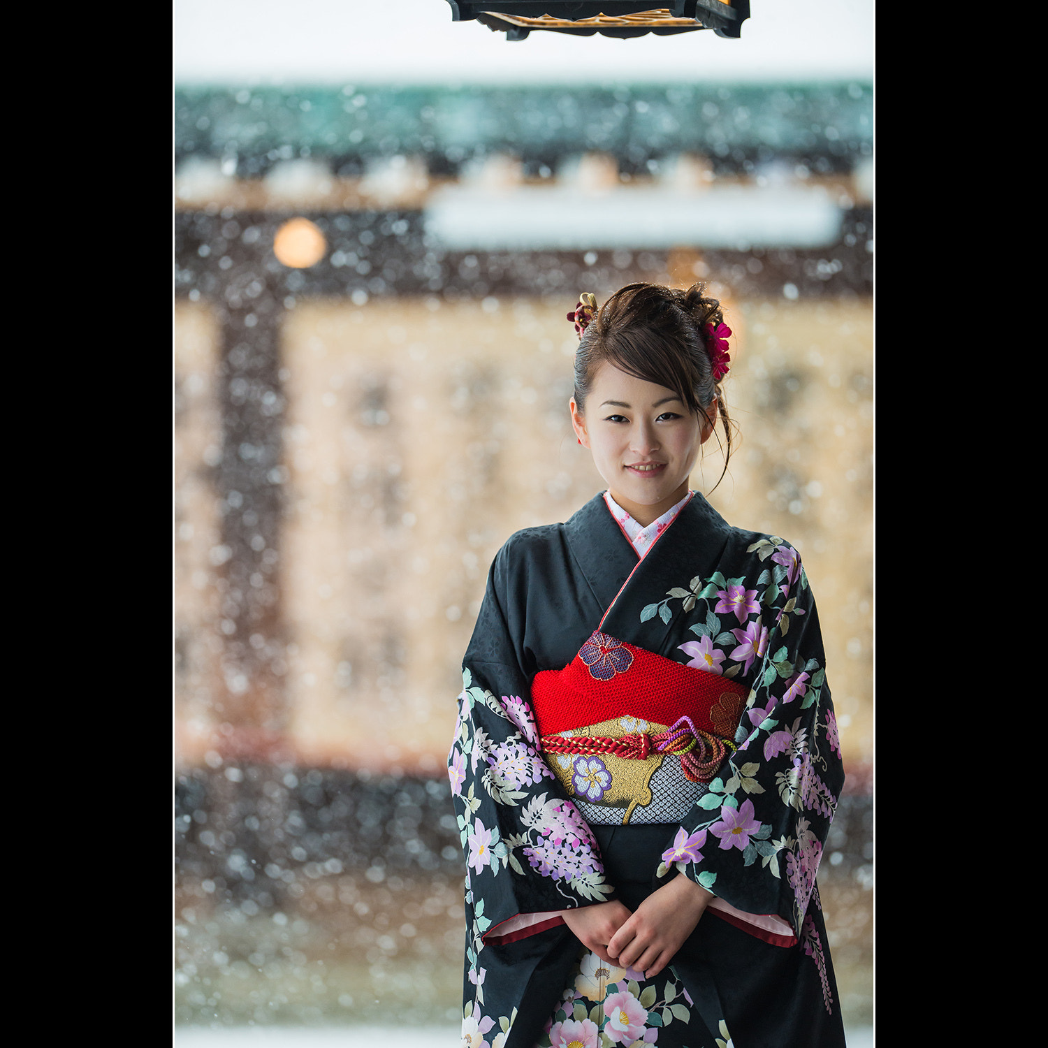 Photograph Kimono under the Snow by Mike Gras on 500px