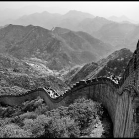 Great Wall in B&W by vovamir on 500px.com