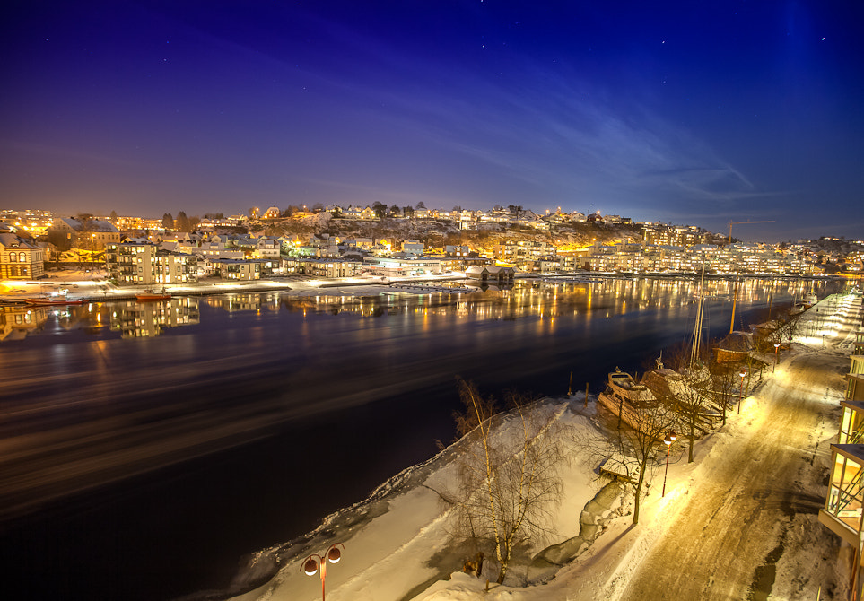 Photograph Riverside by night by Nicklas Winger on 500px