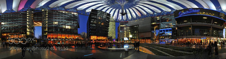 Photograph Sony Center, Berlin by Nikos Koutoulas on 500px