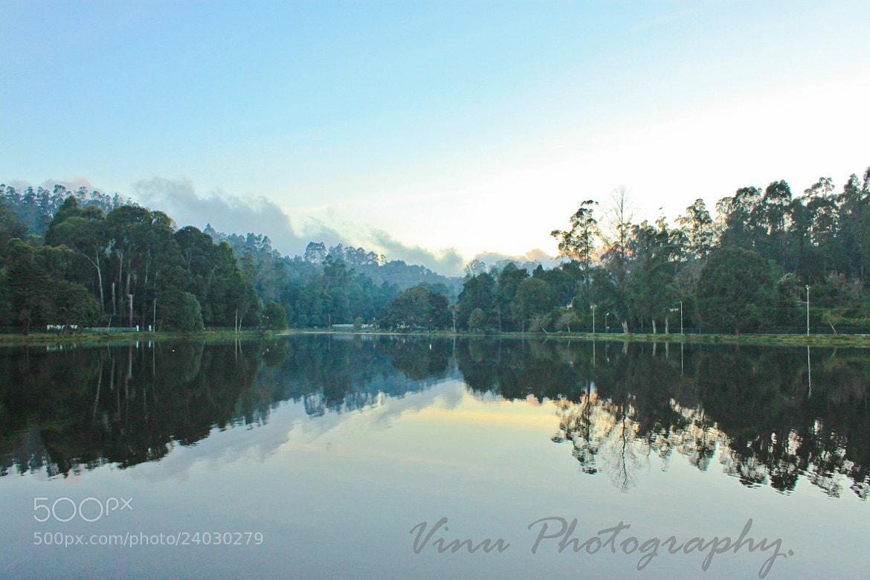 """Photograph The Reflections, """"Kodaikanal Lake""""  by Vinu Padmanabhan on 500px"""