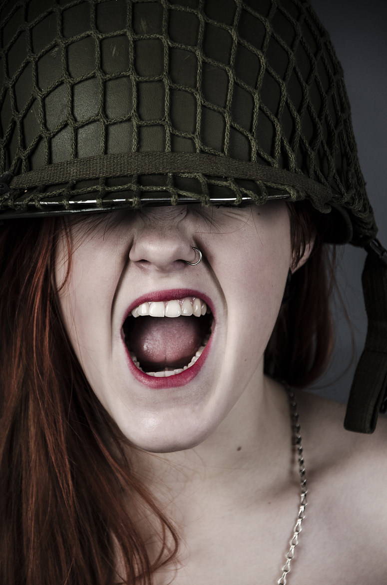 Photograph Screaming Soldier by Susann Vatnedal on 500px