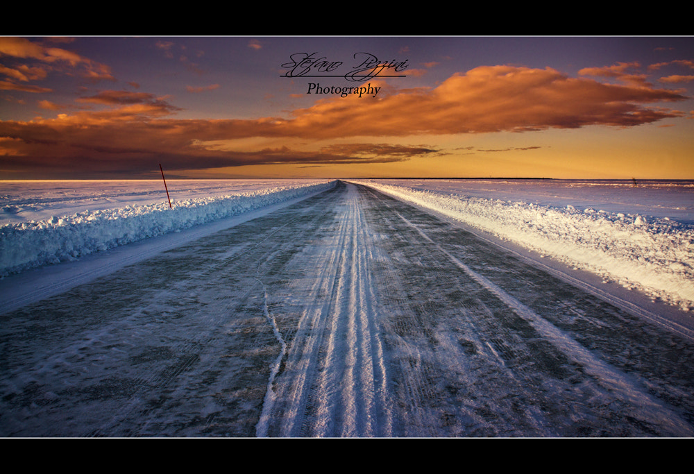 Photograph Ice Road by Stefano Pizzini on 500px