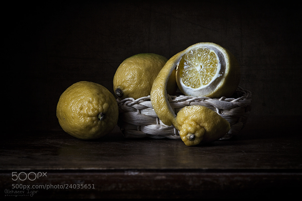 Photograph Lemons... by Igor Alekseev on 500px