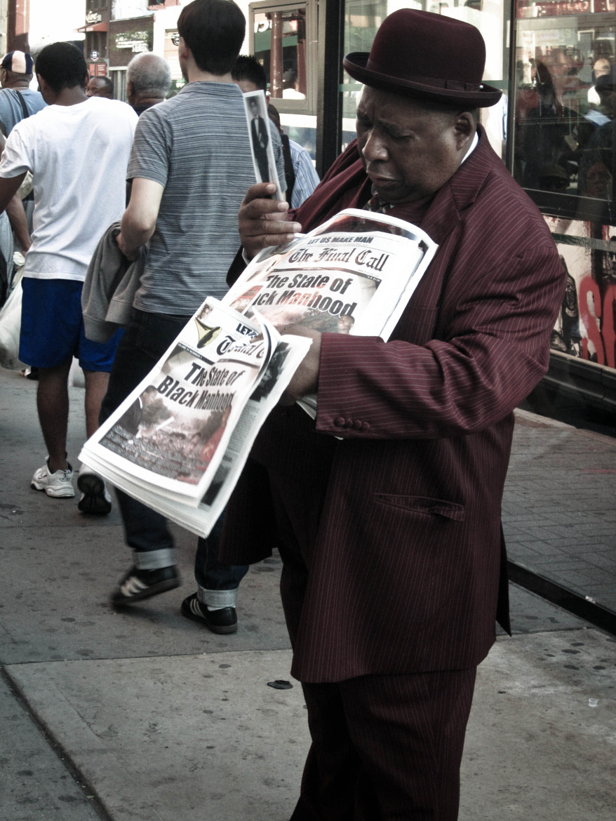 """Photograph """"Selling Newspapers"""" by B.C.  Lorio on 500px"""