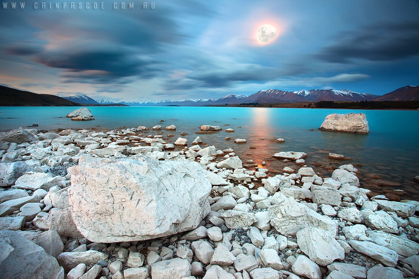Photograph Tekapo Moonlight by Cain Pascoe on 500px