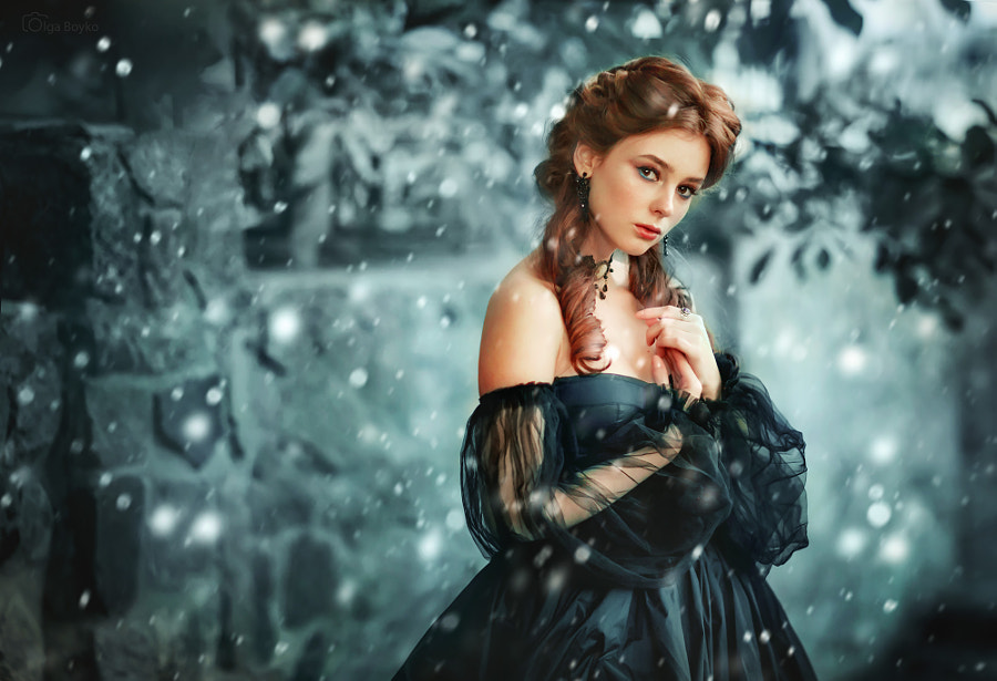 Snowy queen by Olga Boyko on 500px.com