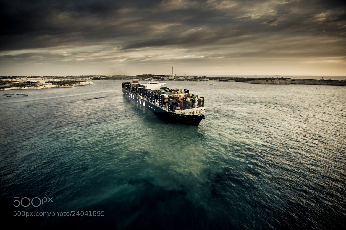 Photograph CMA CGM MARCO POLO by melvin mifsud on 500px