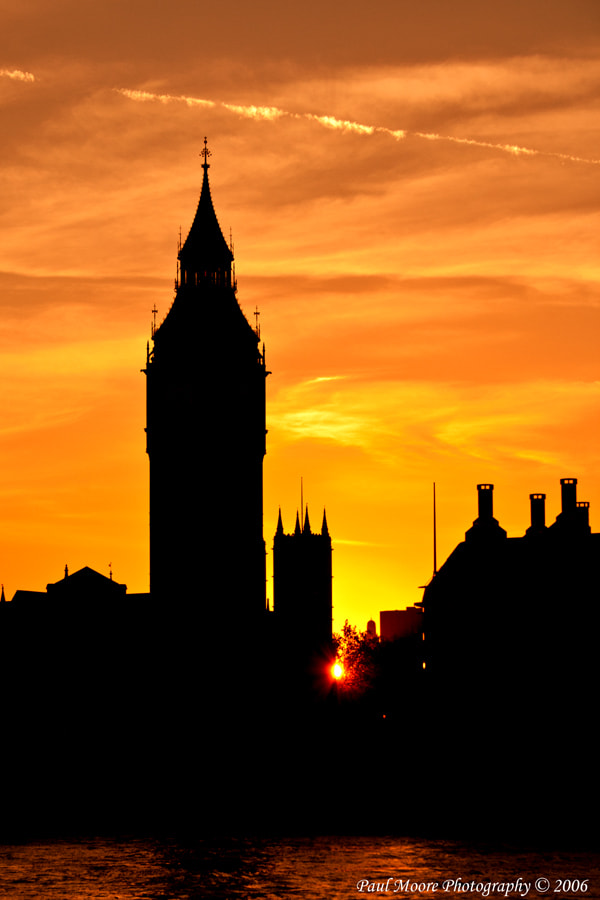 Photograph Big Ben Silhouette #1 - 2006 by Paul Moore on 500px